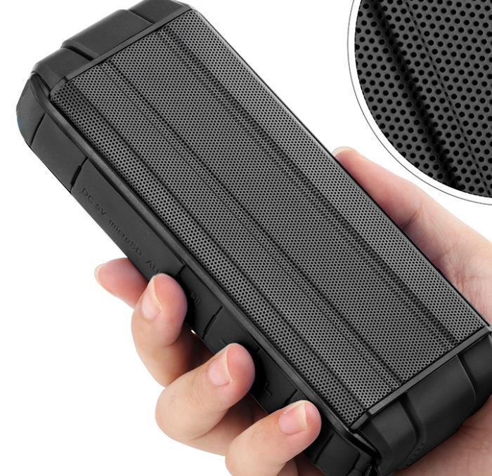 Impermeable altavoz portátil teléfono móvil inalámbrico amplificador altavoz al aire libre casa teatro sistema de altavoz