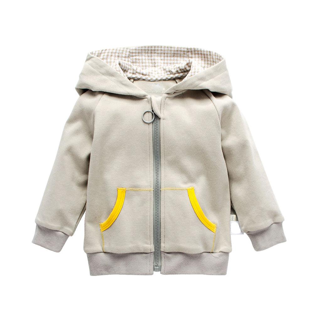 Высокое качество милые Куртки для маленьких мальчиков толстовка оптовая продажа из Китая