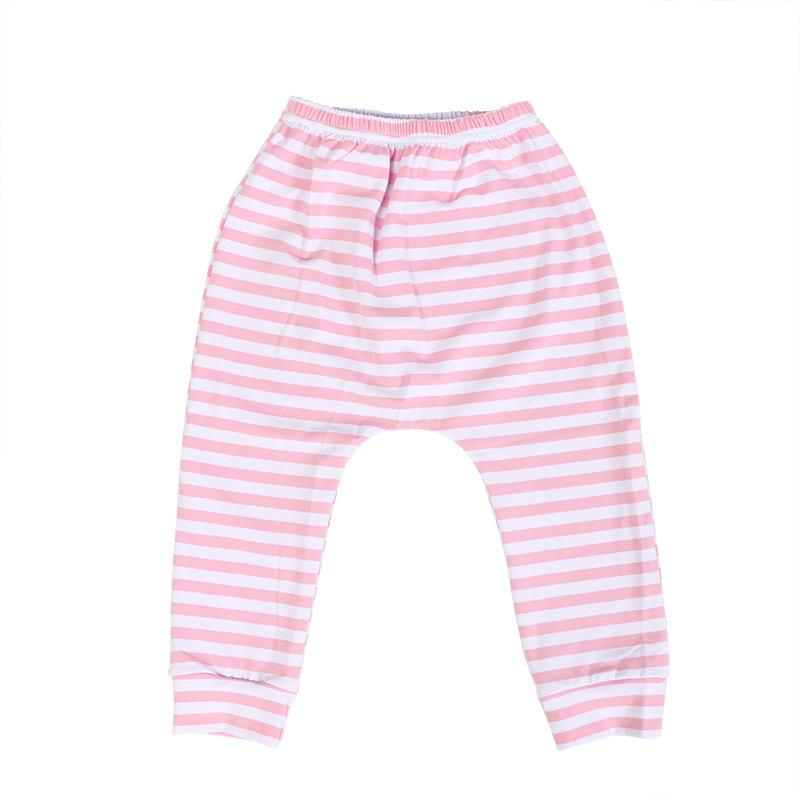Одежда для девочек оптом длинные брюки детские полосатые хлопковые брюки для детей