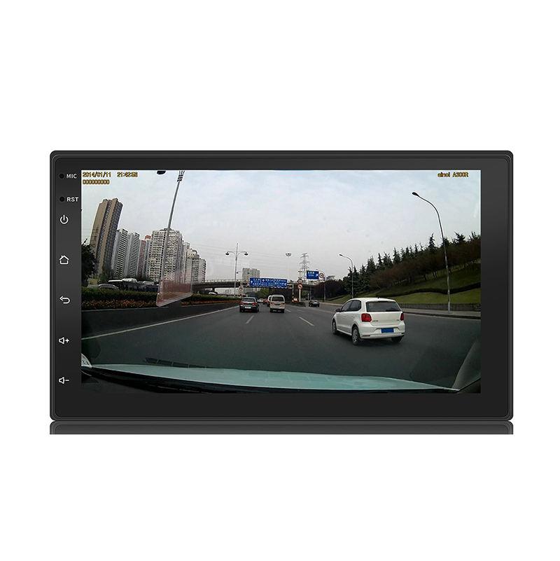Емкость сенсорный 7 дюймов android-dvd-плеер автомобиля с 1024*600 высокой четкости жидкокристаллический дисплей