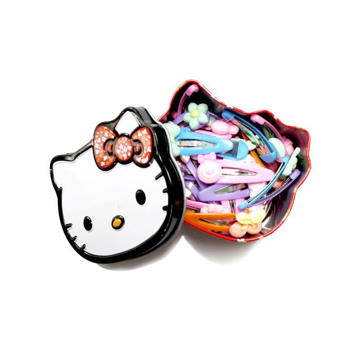 Красивый пластиковый Бобби Шпильки Аксессуар для Волос железный ящик для детей