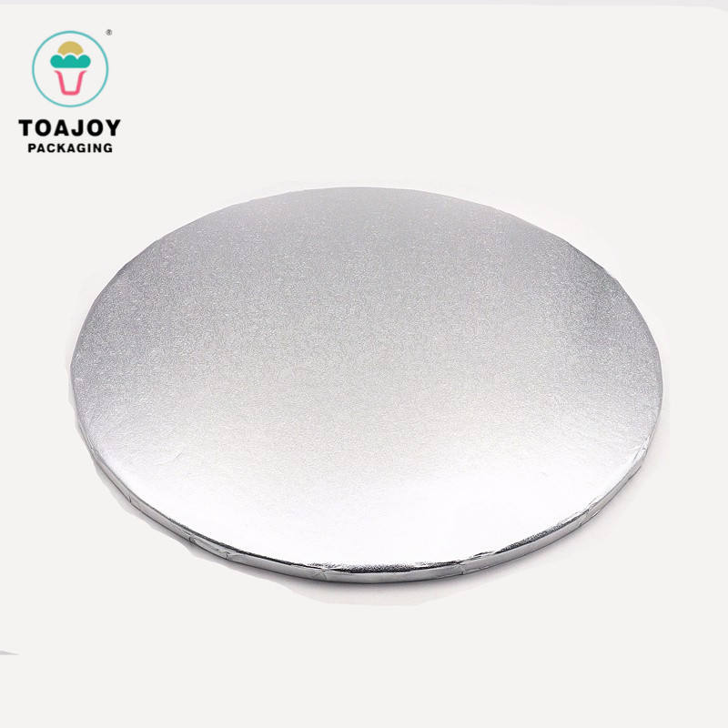 Печатные круг картонная основа для торт декоративные круглый Щепка картона торт барабана