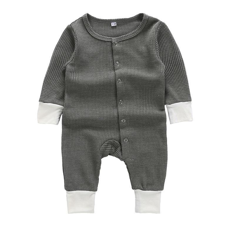 happy новорожденных Одежда для маленьких мальчиков gery полосой органический хлопок победитель одежда с длинным рукавом