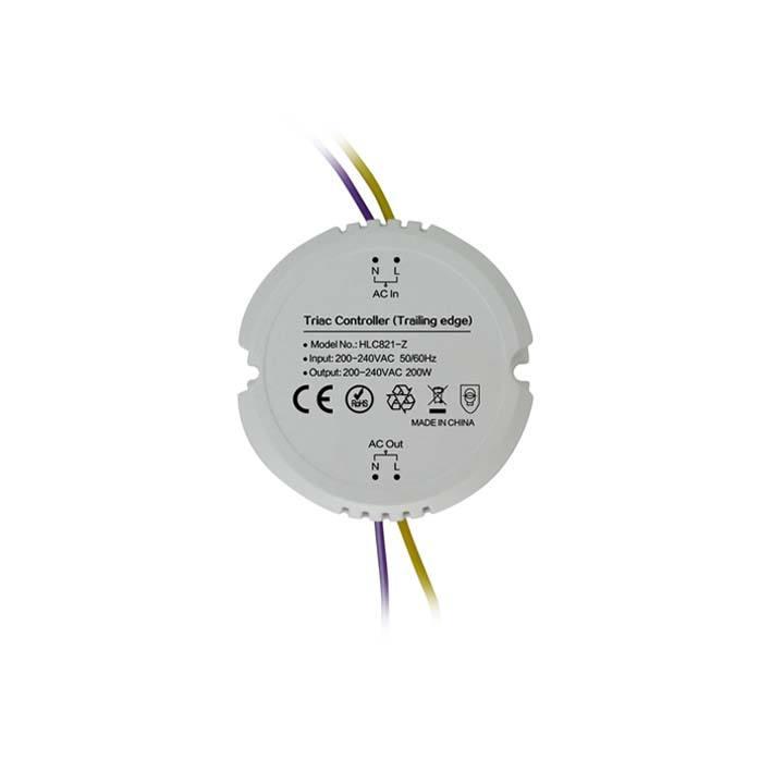 Zigbee light link domotique zll zha1.2 wifi sans fil de bord de fuite triac LED gradateur 220 v 230 v
