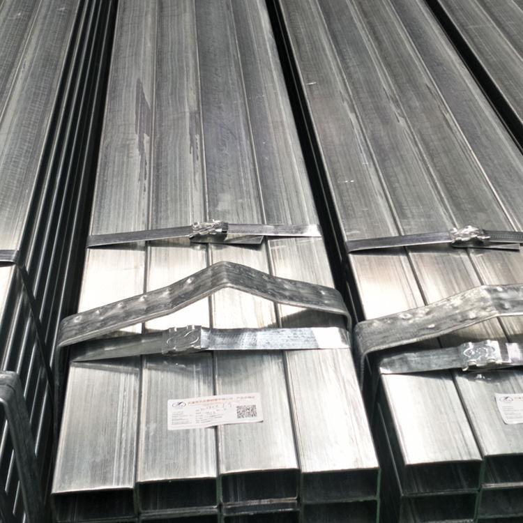 Inşaat yapı malzemeleri <span class=keywords><strong>kullanılan</strong></span> ön-galvanizli kare çelik boru