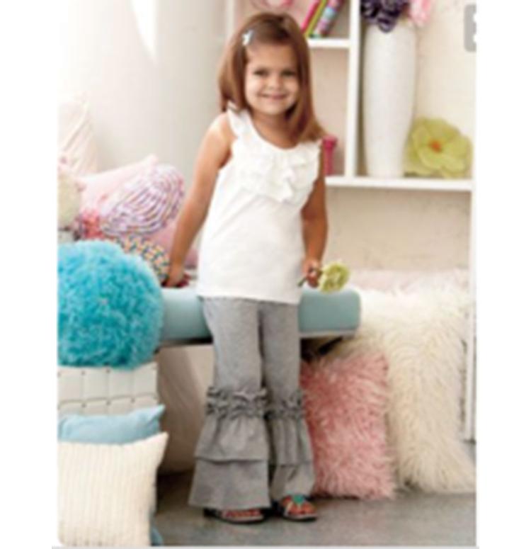 Топ продаж детей Бутик комплекты переделать летней одежды для маленьких девочек