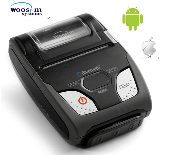 58mm taşınabilir android usb mobil termal makbuz yazıcı Woosim WSP-R240