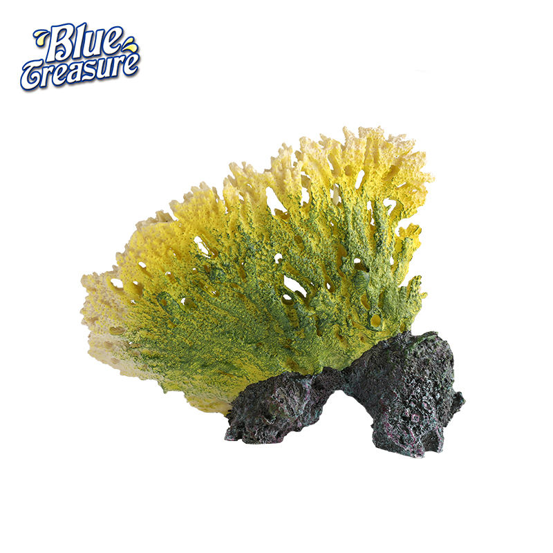 Prix raisonnable l'océan résine récif de corail artificiel pour aquariums