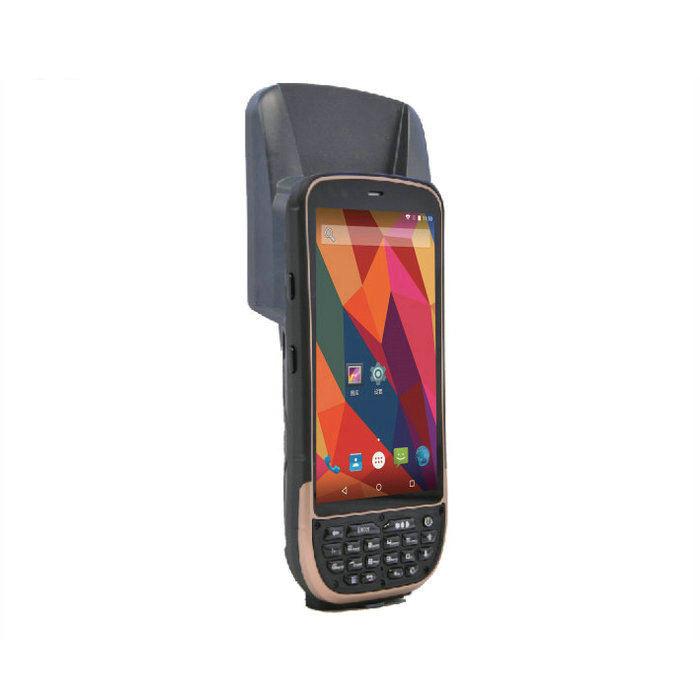 CE 인증 KT50 안드로이드 5.1 os 무선 휴대용 패시브 UHF RFID 핸드 헬드 <span class=keywords><strong>리더</strong></span> Impijn R2000 UHF 모듈, 5 미터 거리