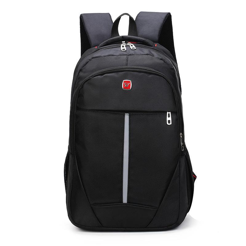 2018 Promocional Preto Oxford Tecido fantasia leve bolsa para laptop pacote de viagem mochila com grande <span class=keywords><strong>capacidade</strong></span>