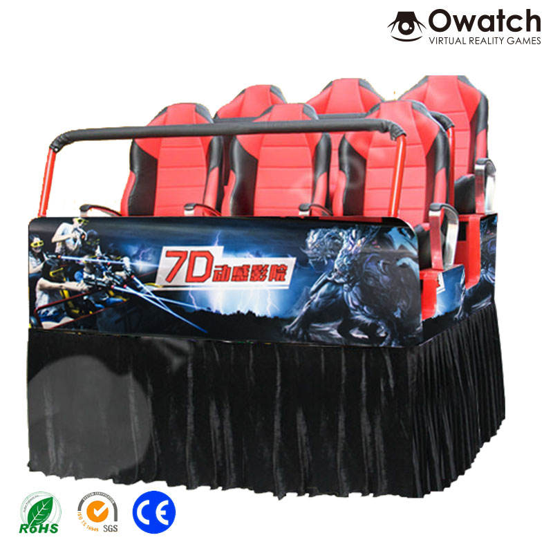 7d <span class=keywords><strong>teatros</strong></span> en China mejor calidad 7d proyector 12 asientos móvil 7d cine