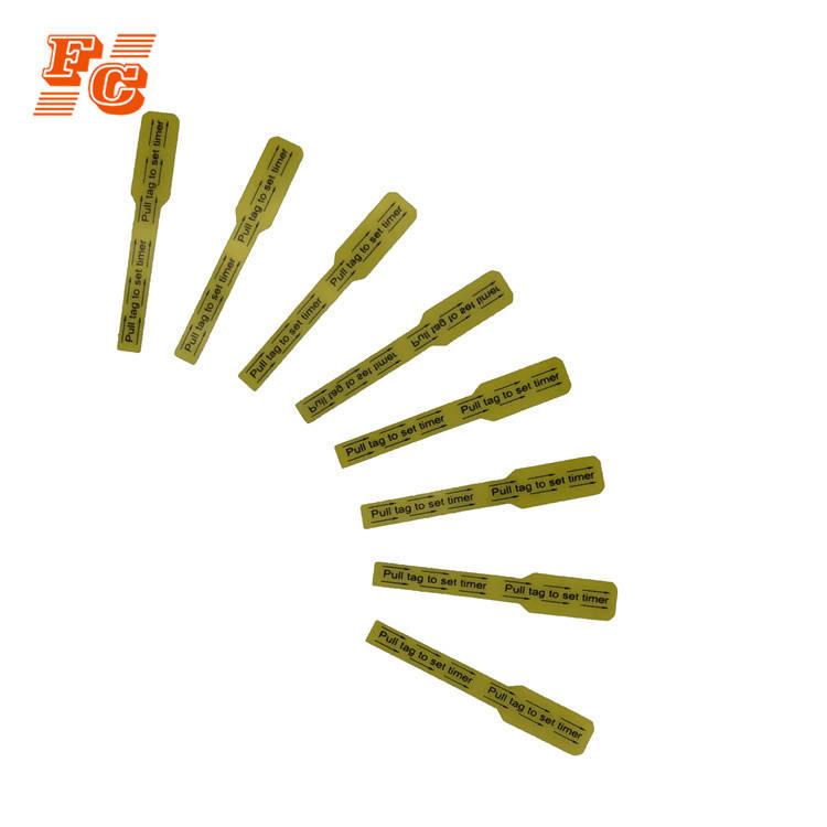 Logotipo personalizado Indicador de protección del medio ambiente, etiqueta engomada de la etiqueta