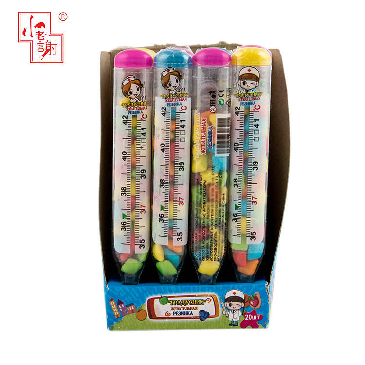 Cadeaux promotionnels Pour Enfants Thermomètre <span class=keywords><strong>Design</strong></span> Doux <span class=keywords><strong>Bonbons</strong></span> Halal