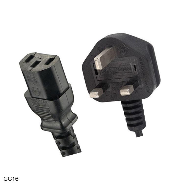 UK Britischen BS1363 Verschmolzen Stecker IEC 60320 C13 Weibliche AC Elektrische Draht Verlängerung Kabel <span class=keywords><strong>Gfci</strong></span> Power Kabel
