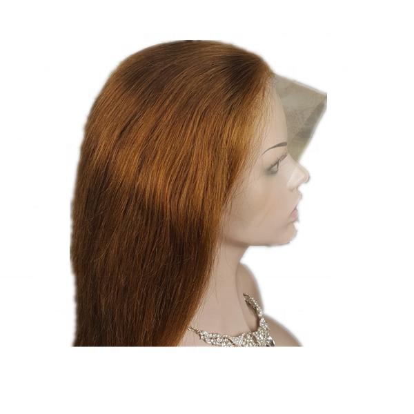 Highknight nuevo estilo <span class=keywords><strong>pelucas</strong></span> de cabello humano Real de 18 pulgadas Peluca de encaje de pelo de seda