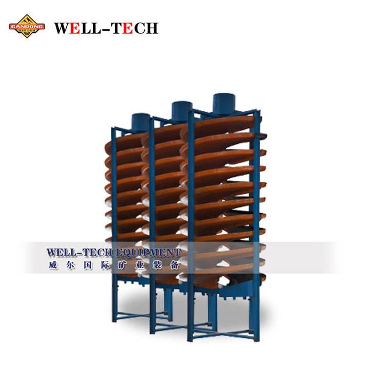 El mineral de cobre espiral máquina de concentrador