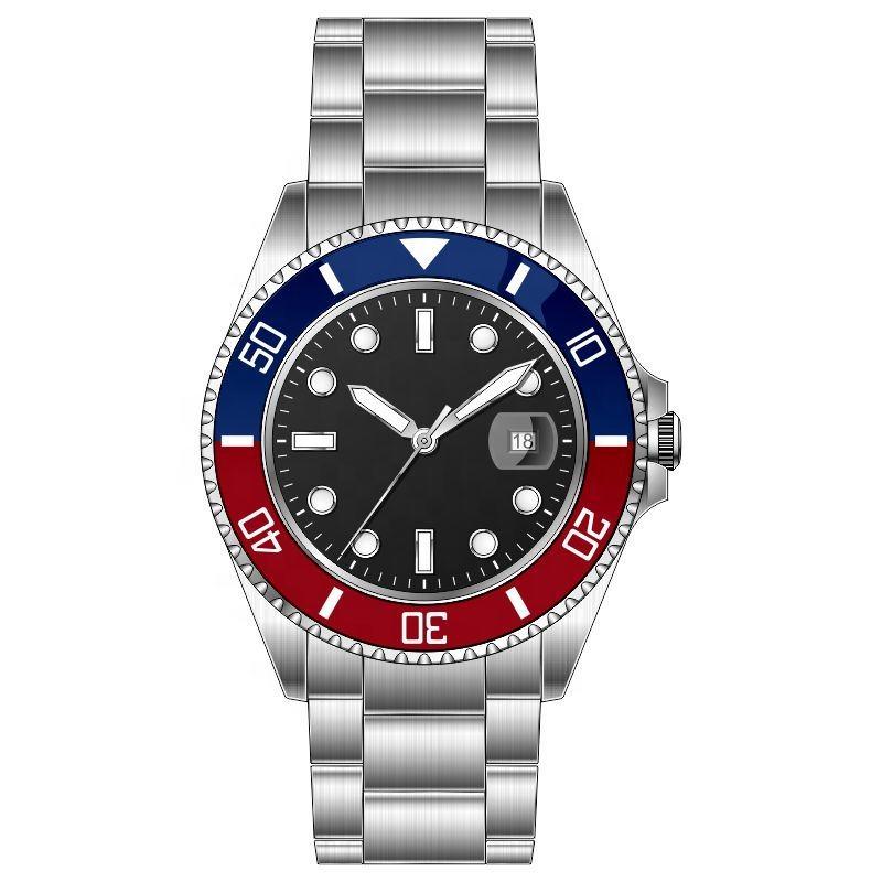 30ATM resistente al agua mecánico automático de muñeca relojes de los hombres de la marca de lujo de diver reloj automático