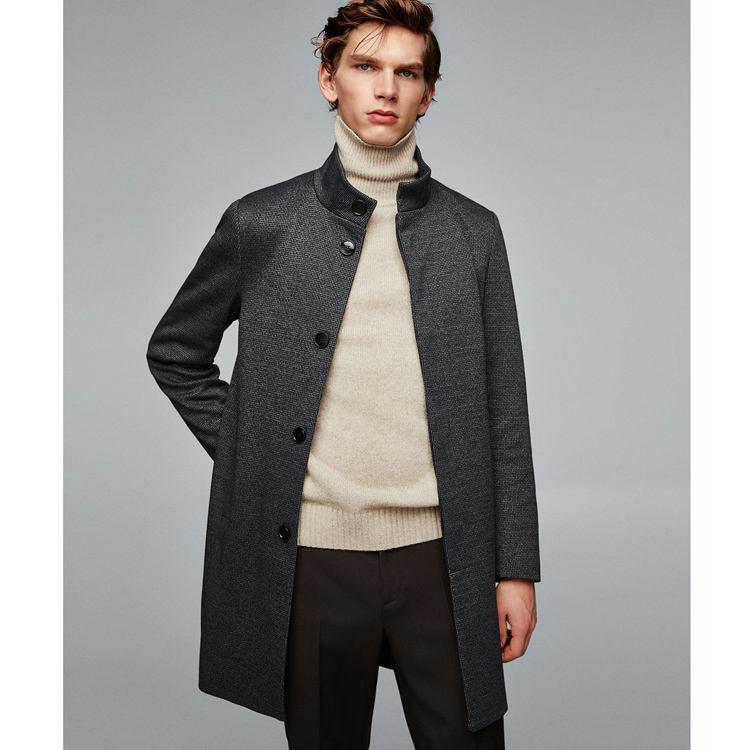 Plaid sogno di stile dei nuovi uomini cappotto