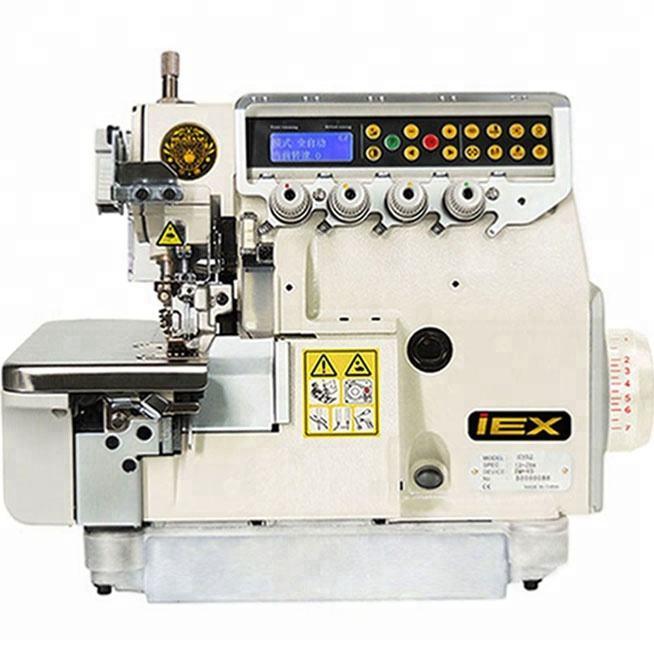 Máquina overlock Industrial compra en línea para ancho de la costura con construido en la caja de control