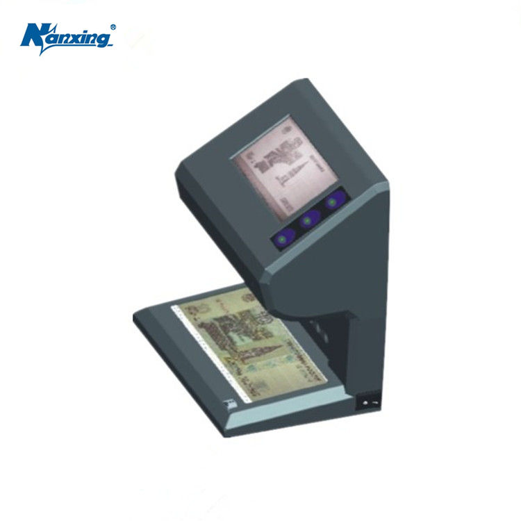 UV IR la imagen de marca de agua detectar dinero escáner de la máquina