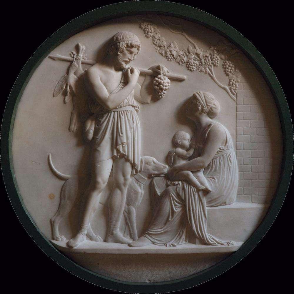 Гостиная украшения мрамор резьба член семьи БАРС рельеф стены скульптура