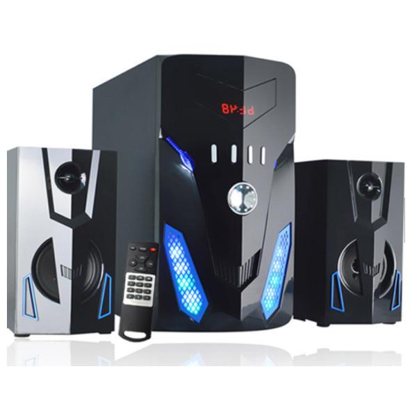 Высокая точность fm радио аудио системы 2,1 канала беспроводной Мультимедиа bluetooth домашний кинотеатр системы