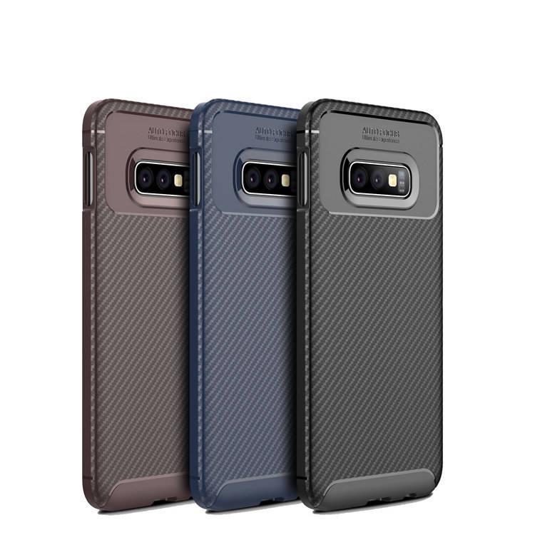 내진성 Carbon Fiber Tpu 폰 Cover 대 한 Samsung Galaxy s10 Lite Case