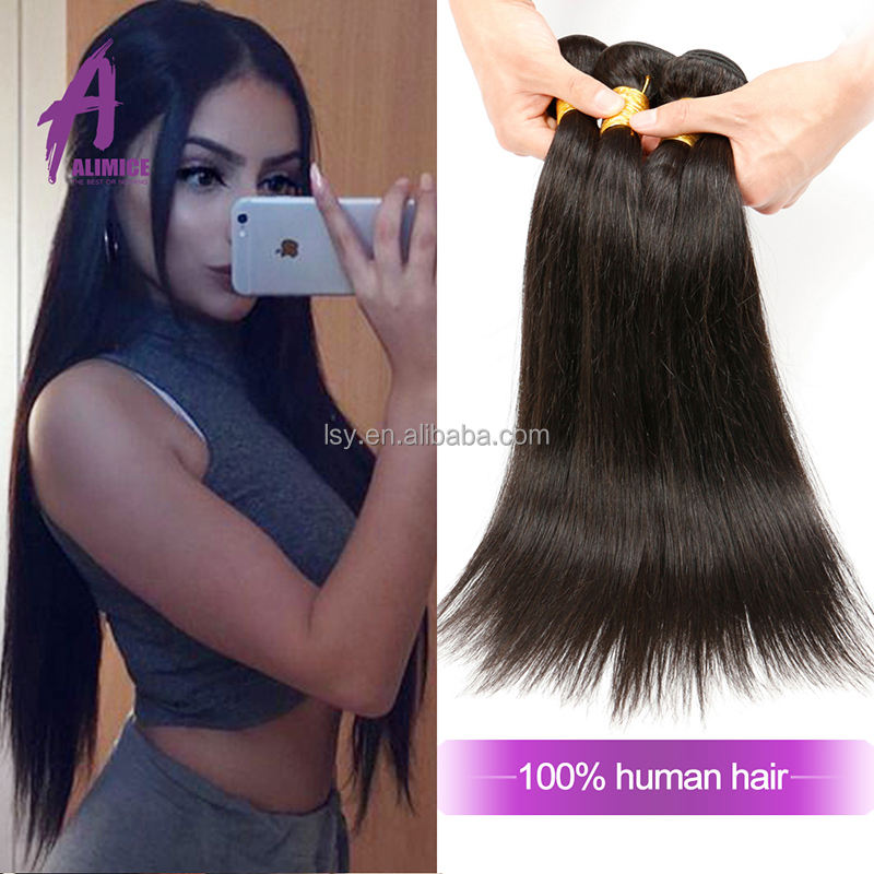 100% cheveux brésiliens Meilleure Vente Cheveux Humains <span class=keywords><strong>Yaki</strong></span> Droite Usine Directement Vente