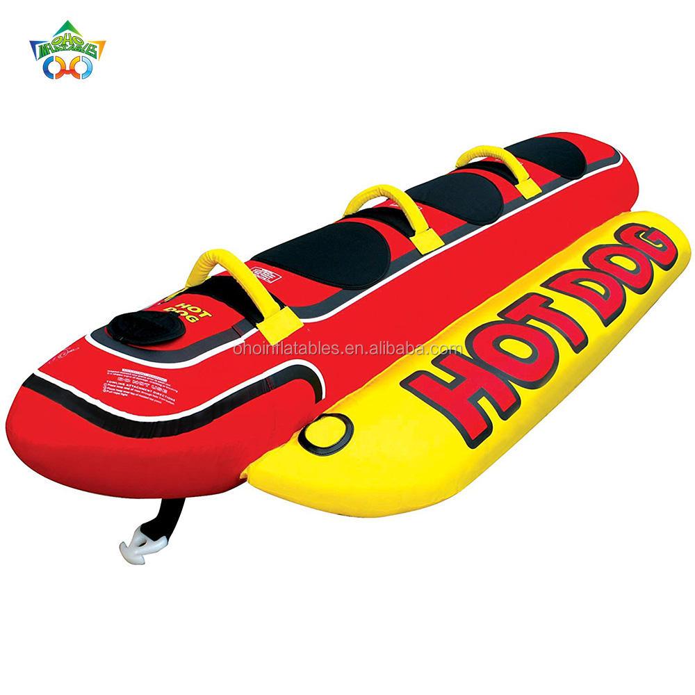 Оборудование для воды надувная лодка банан летающая рыба лодка для продаж