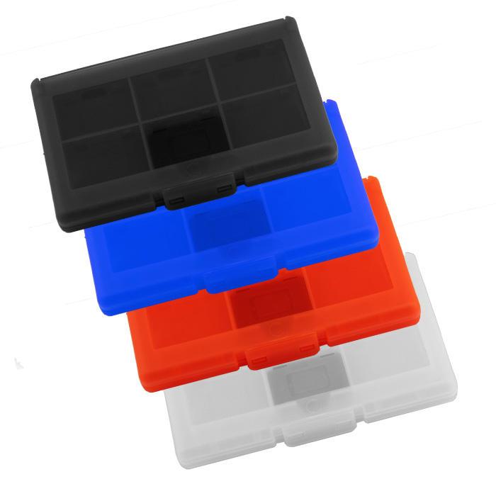 Разные <span class=keywords><strong>цвета</strong></span> 12 визитница + 2 Слот для карты SD для Nintendo Switch карточная игра каретки