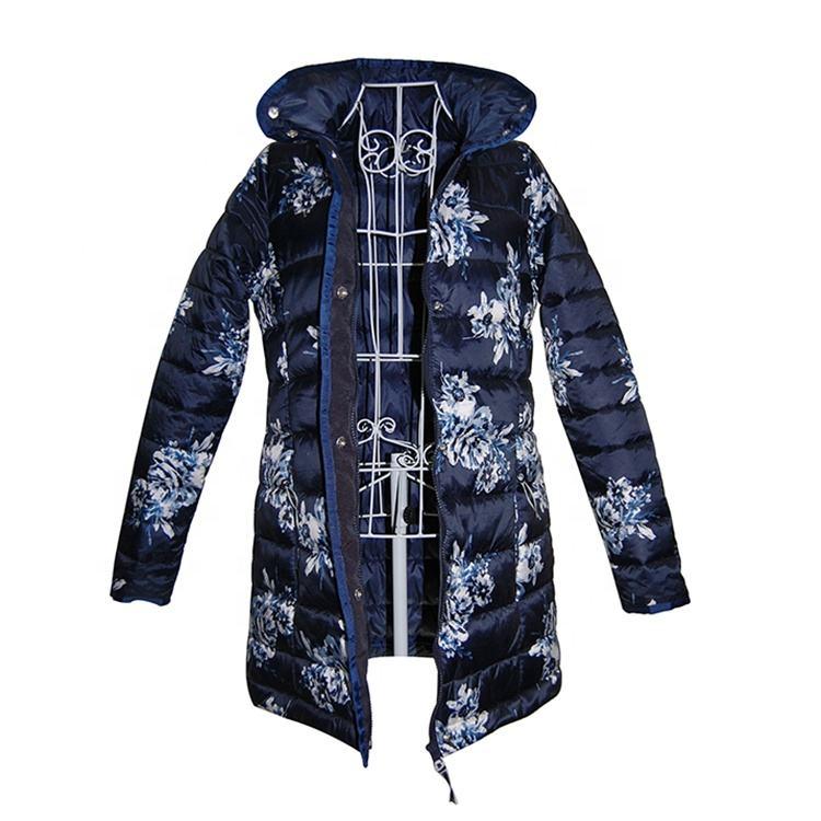 Мода дамы обивка одежда женщина зимние пальто