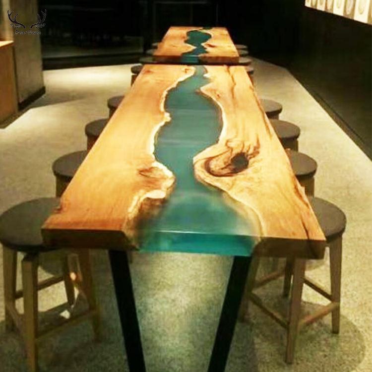 Solid wood 표 top 살 edge 슬래브 표 suar wood 표