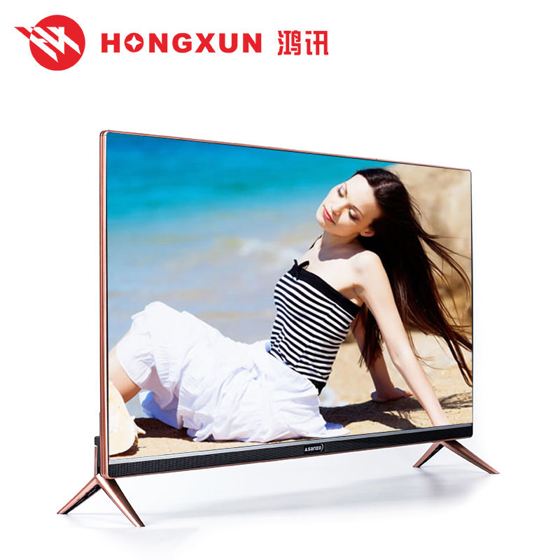 <span class=keywords><strong>Кольцо</strong></span> смарт-узкая рамка 3D FHD Стенд закаленное стекло, led-Телевизор с USB воспроизведения видео