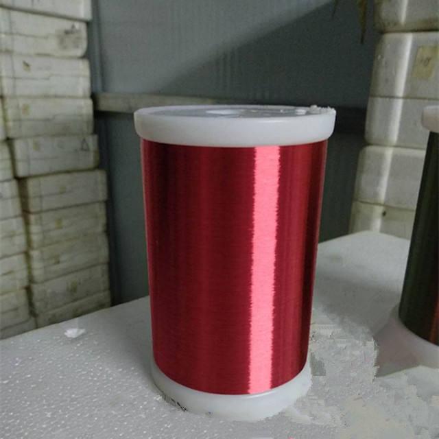 De alta calidad de alambre eléctrico SWG AWG TAMAÑO DE 133/155 de poliéster de clase cobre esmaltado