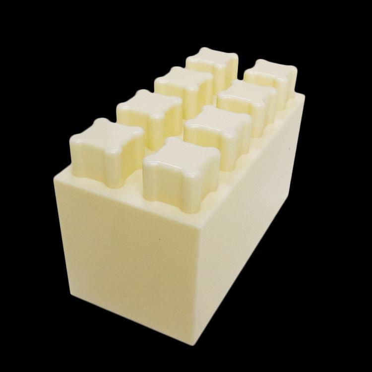 أسود الصلبة abs العملاق البلاستيك كبيرة بناء حائط فاصل منزل فيلا كتل