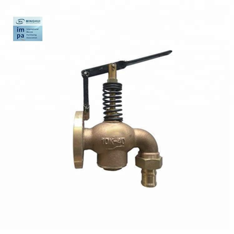 JIS F7398 5K10K fonte bronze en laiton coulé à fermeture automatique vanne à fermeture automatique valve vannes marine