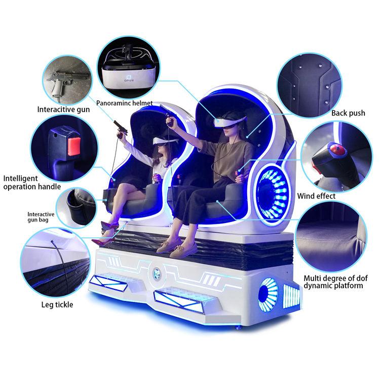 Die meisten Profitable Vr Interaktive Technologie 12D Film Virtuelle Realität Station Vr 9D Cine