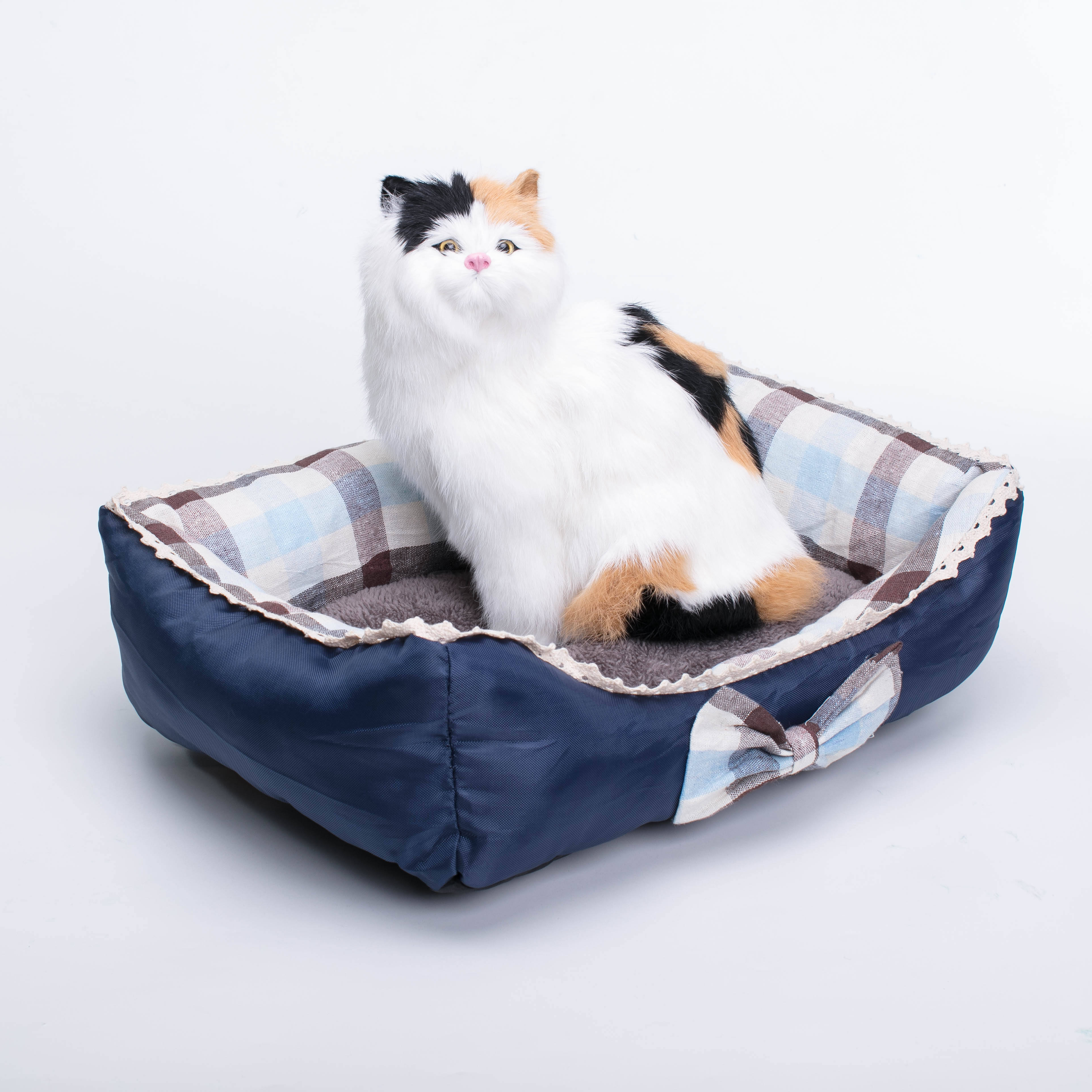 Machine Washable Soft Pet Sofa Dog Pet Bed