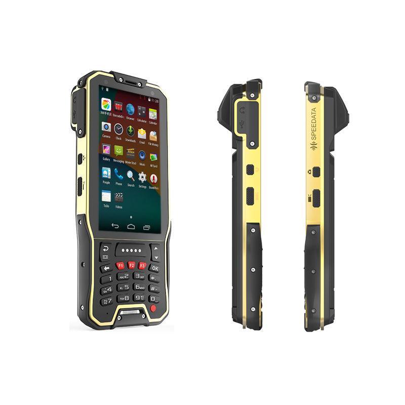 안드로이드 물류 착용 장치 1D 2D 레이저 바코드 스캐너 휴대용 스마트 폰 NFC RFID 카드 <span class=keywords><strong>리더</strong></span>