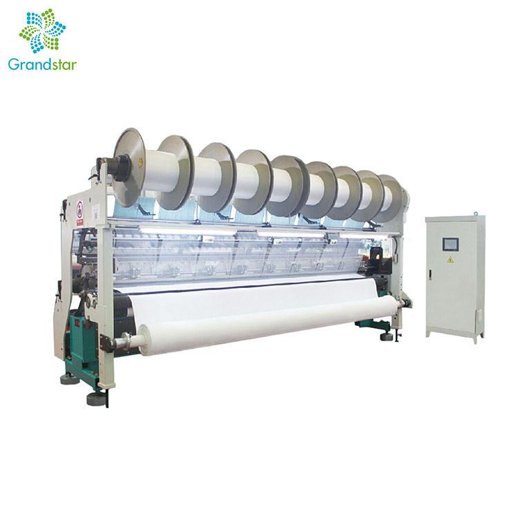 Hohe Geschwindigkeit Maschine von HKS TM Warp Stricken maschine Trikot Maschine für plüsch sport stoffe