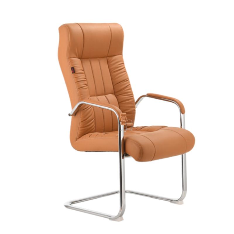 Encosto alto assento do balanço do assento de carro encosto de cabeça estilo mobiliário comercial para uso geral e apoio lombar cadeira de escritório sem rodas
