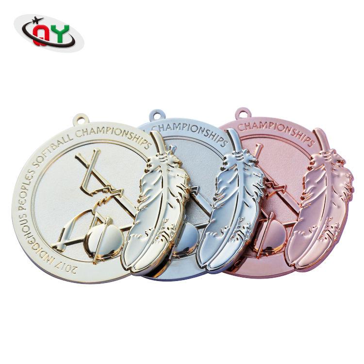 Venda quente de alta qualidade material de liga de Zinco ouro prata cobre medalha medalhas de metal personalizados nenhuma ordem mínima