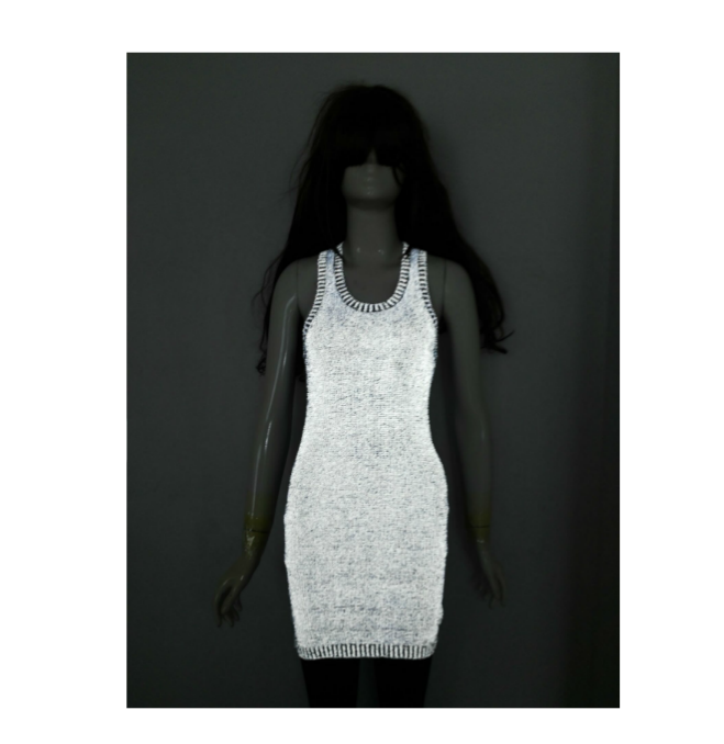 luminous jacket clothing fashion reflective t shirt glow in the dark costume formal luminescent clothes dress
