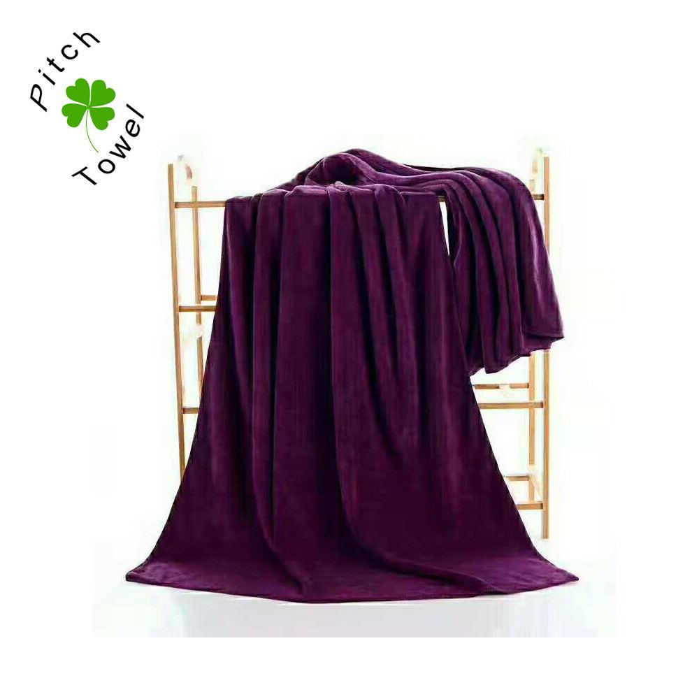 Tecido de lã Coral toalha de banho tecido de microfibra pano de secagem rápida