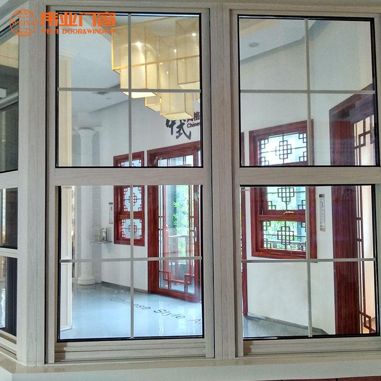 Vidrio templado térmicamente roto de aluminio plegable <span class=keywords><strong>exterior</strong></span> de la <span class=keywords><strong>ventana</strong></span> para la venta