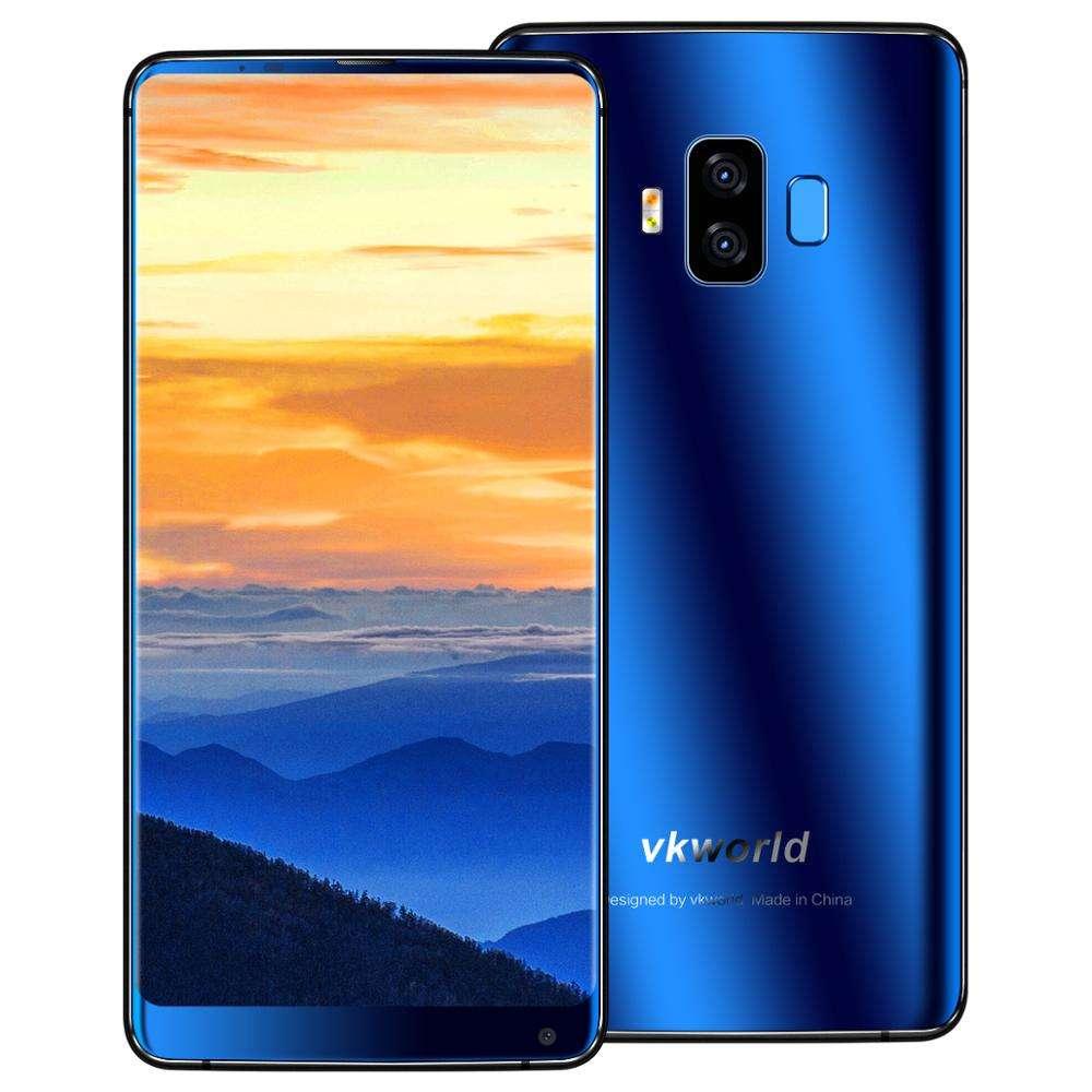 "Nuevos productos 5500 mAh 5,99 ""Pantalla Completa"" Android 7,0 MTK6750T Octa Core VKworld teléfono S8 4 GB + 64 GB teléfono móvi"