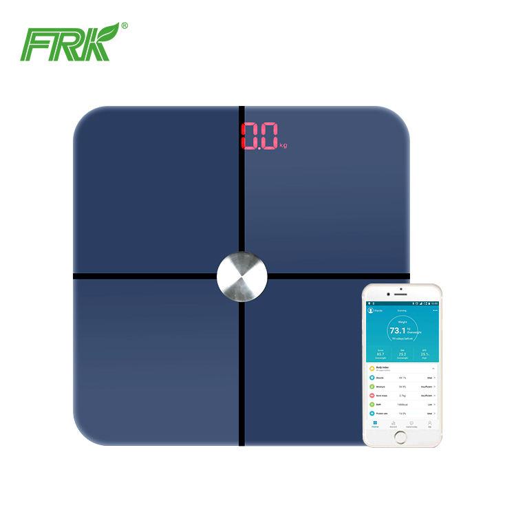 Bluetooth <span class=keywords><strong>numérique</strong></span> pèse avec plateau en verre avec ITO glassconnect avec <span class=keywords><strong>app</strong></span> pour iphone et android téléphone mobile