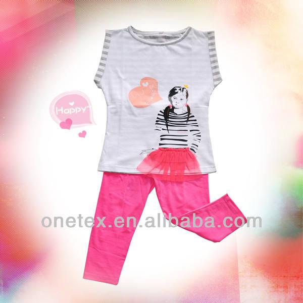 Девушки футболка с принтом детская одежда