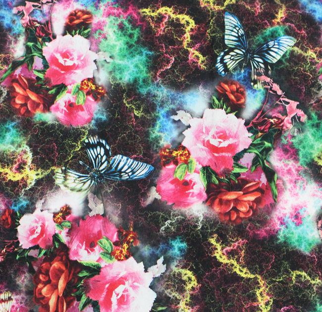 Kelebek tasarım para için mükemmel değer endonezya pamuk baskılı kumaş toptan