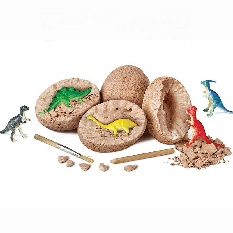 DIY Ausgrabungs werkzeuge Kunststoff Dig Discovery Harz Figur Anime Kids Science Kits <span class=keywords><strong>Dino</strong></span> Dinosaurier <span class=keywords><strong>Ei</strong></span> Fossil Toy